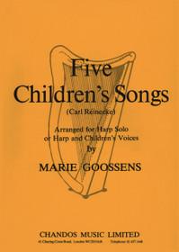 Reinecke/Goossens: Five Children's Songs