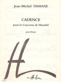 Damase, Cadence pour le Concerto de Handel