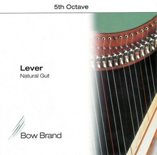 Bow Brand Lever Gut: 5th Octave (E-B)