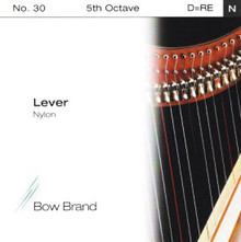Lever Nylon String, 5th Octave D