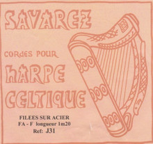 J31 - Savarez Celtic Harp Wire 5th Oct F (Aziliz J31)