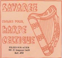 Savarez Celtic Harp Wire 6th Oct E (Aziliz J32)