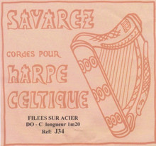 Savarez Celtic Harp Wire 6th Oct C (Aziliz J34)