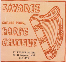 Savarez Celtic Harp Wire 6th Oct B (Aziliz J35)
