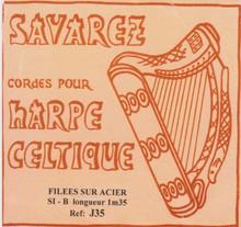 Savarez Celtic Harp Wire 6th Oct B (Aziliz J35)