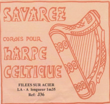 Savarez Celtic Harp Wire 6th Oct A (Aziliz J36)