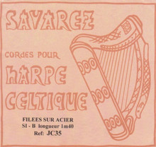 Savarez Celtic Harp Wire 6th Oct B (Aziliz JC35)