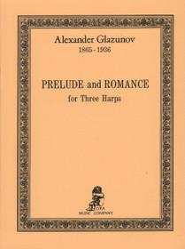 Glazunov: Prelude and Romance for Three Harps