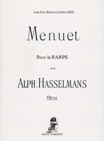 Hasslemans, Menuet Op. 34