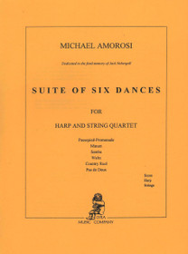 Amorosi, Suite of Six Dances (Score)