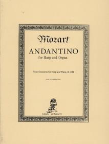 Mozart, Andantino for Harp and Organ
