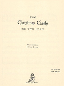Owens, Two Christmas Carols for Two Harps