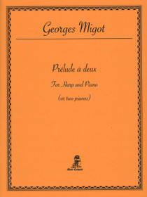 Migot, Prelude a deux (Harp and Piano)