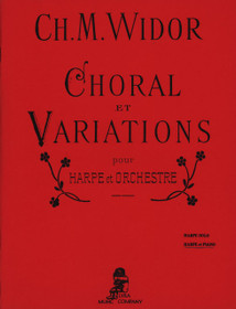 Widor, Choral Variations for Harp and Orchestra (Harp and Piano Reduction)