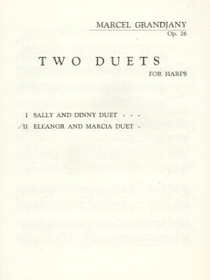 Grandjany: Two Duets for Harps - Eleanor and Marcia Duet (Op. 26)