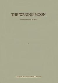 """Galante, The Waning Moon - OVERSIZE SCORE 21.5""""X13"""""""