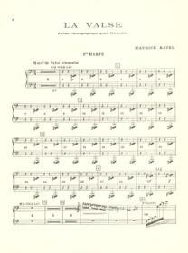 Ravel: La Valse (Poem Choregraphique pour Orch.) Hp 1