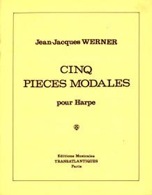 Werner, Cinq Pieces Modales