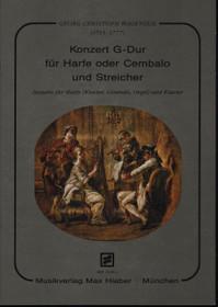 Wagenseil: Konzert G-dur fur Harfe oder Cembalo und Streicher (Harp and Piano Reduction)