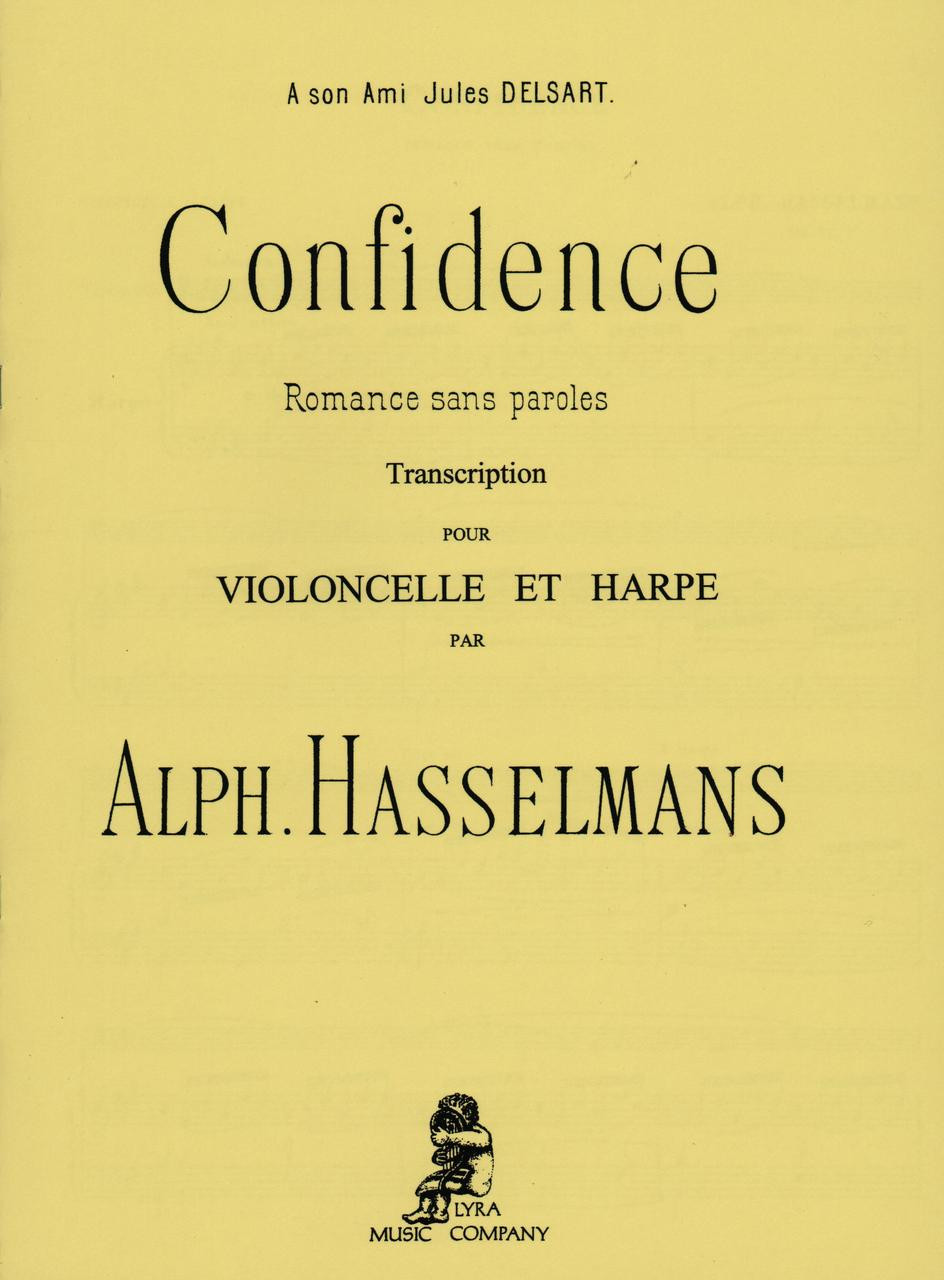 Hasselmans Confidence For Harp And Cello Vanderbilt Music Company
