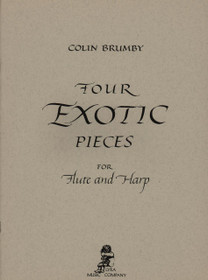 Brumby: Four Exotic Pieces for Flute and Harp