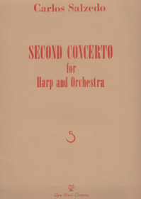 Salzedo, Second Concerto for Harp and Orchestra (Harp and Piano Reduction)