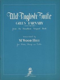 Farnaby/Hill: Old English Suite for Flute, Cello and Harp