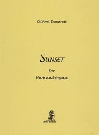 Demarest, Sunset for Harp and Organ