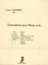 Couperin/Salzedo: Sarabande du 4th Concerto royal. Transcriptions pour Harpe seule