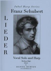 Burton: Franz Schubert Lieder, Vocal Solo and Harp (Digital Download)
