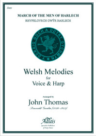 Thomas: March of the Men of Harlech (Harp and Chois - Conductor's Score)
