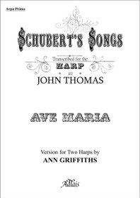 Schubert/Thomas, Ave Maria (Two Harps)