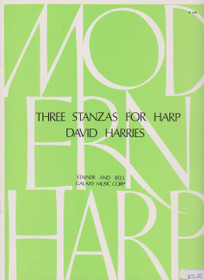 Harries: Three Stanzas for Harp  op.8
