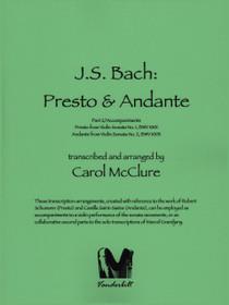 Bach/McClure: Presto & Andante