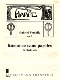 Verdalle, Romance sans parole Op. 6