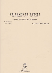 Gounod/Verdalle: Philemon et Baucis, Introduction Pastorale for Harp Solo