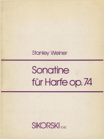 Weiner: Sonatine for Harp Op. 74