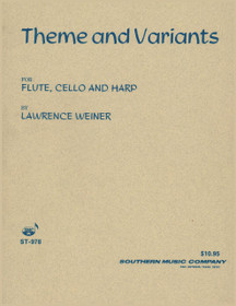 Weiner: Theme and Variants for Flute, Cello and Harp
