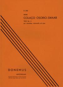 Osorio-Swaab: Trio No. 4 for Clarinet, Cello and Harp