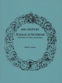 Owens, 16th Century Italian Lute Pieces for Flute, Cello and Harp
