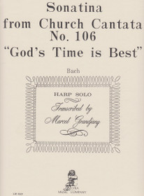 "Bach/Grandjany, Sonatina from Church Cantata No. 106 ""God's Time is Best"""