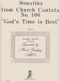 "Bach/Grandjany: Sonatina from Church Cantata No. 106 ""God's Time is Best"""