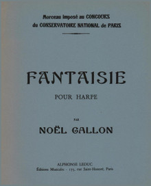Noel-Gallon: Fantaisie for Harp