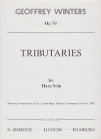 Winters: Tributaries, Op. 79 for Harp