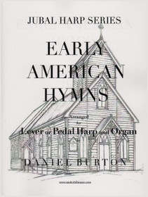 Burton: Early American Hymns for Lever or Pedal Harp and Organ (Digital Download)