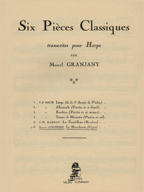 Couperin/Grandjany, Le Moucheron (Gigue)