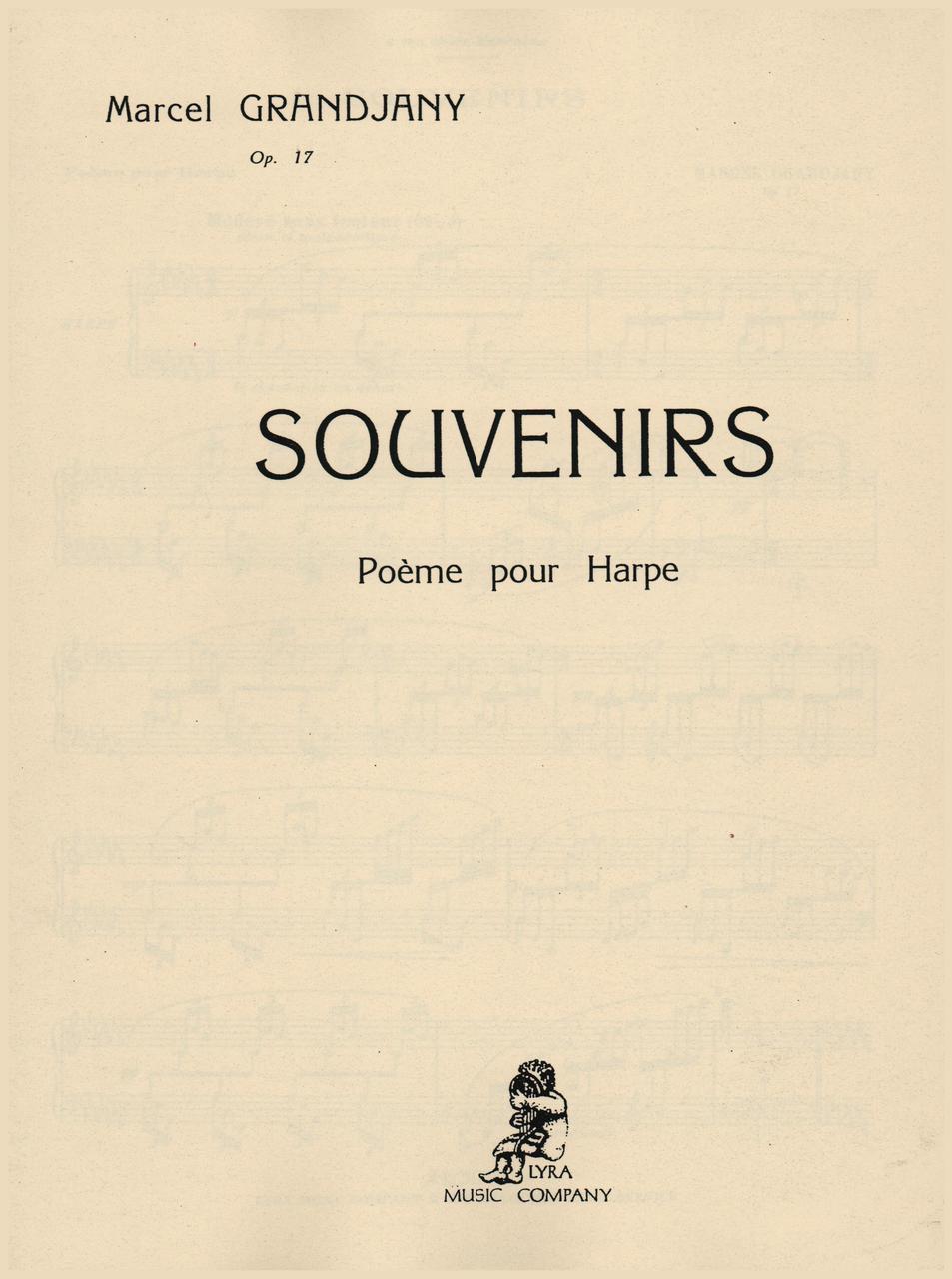 Grandjany Souvenirs Op 17