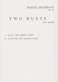 Grandjany: Two Duets for Harps - Sally & Dinny Duet, Op. 26