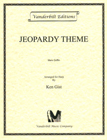 Griffin/Gist: Theme from 'Jeopardy!' for solo harp