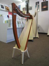 Floor Model Juno 25 Lever Harp (Sold)